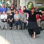 Tanzperformance von Helga Seewann
