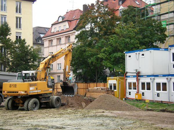 Baustelle Josephsplatz