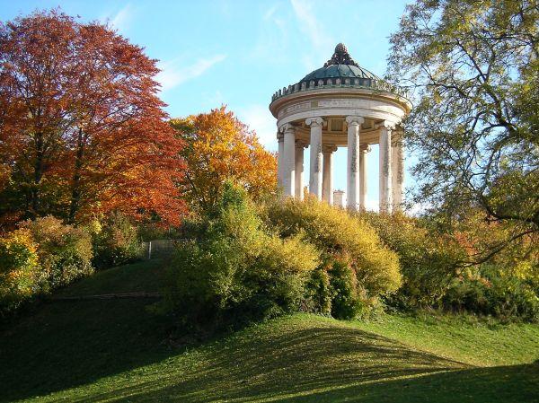 Goldener Herbst Am Monopteros Im Englischen Garten Maxvorstadtblog
