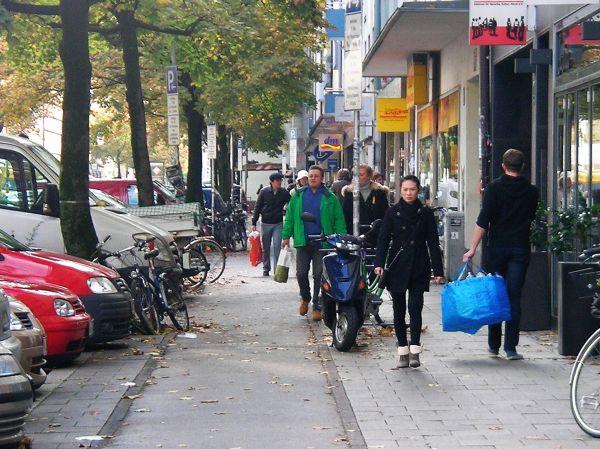Geh- und Radweg Augustenstraße