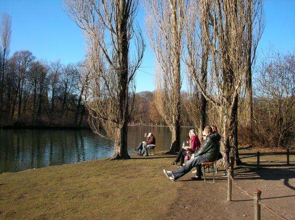 Vorfrühling im Englischen Garten