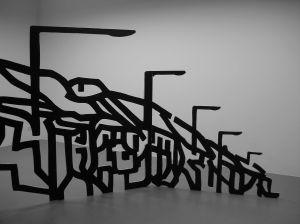Skulptur von Tim Wolff