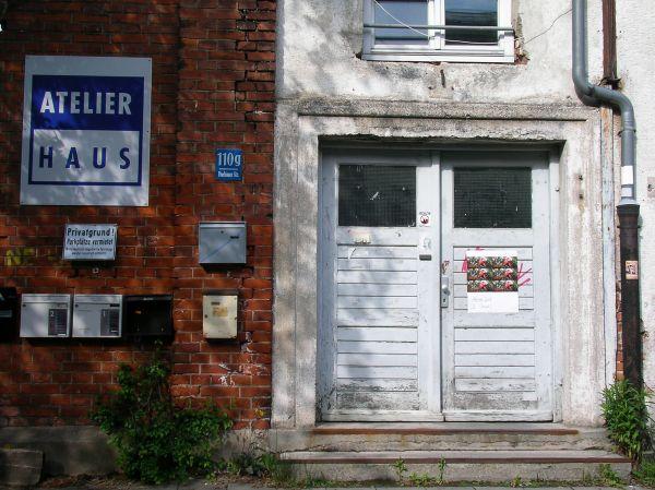 Atelierhaus Dachauer Straße (Eingang)