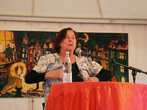 Maria Peschek beim Corso Leopold