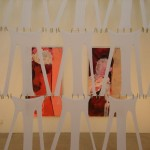 Installation mit Strumpfhosen: BOXSOX