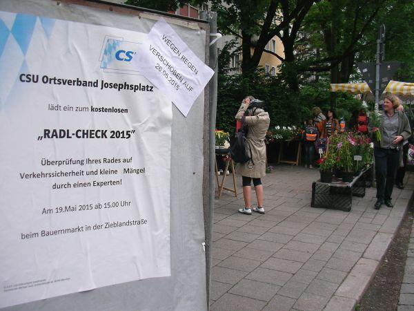 Radlcheck-Angebot der CSU