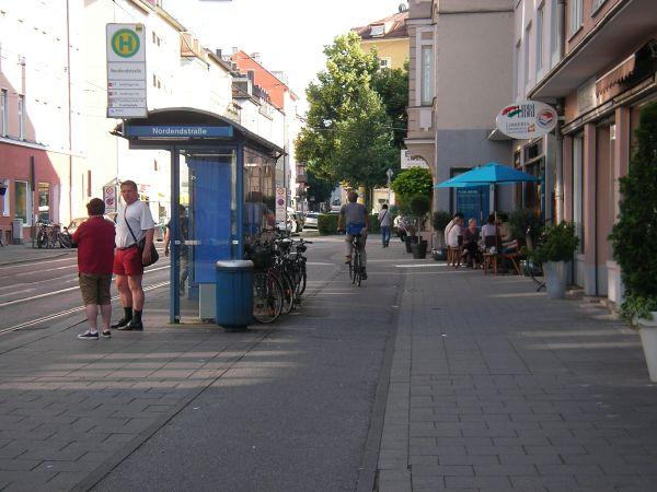 Straßenbahn-Haltestelle Nordendstraße