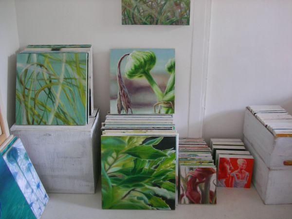 Im Atelier von Anette Koch