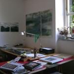 Blick ins Atelier Fritz-Herrmann