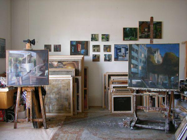 Atelier von Wolfgang Müller-Jakob