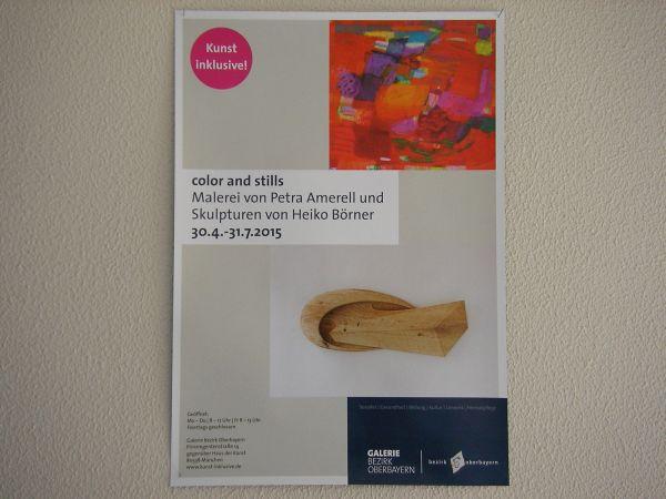 Austellungsplakat Petra Amarell