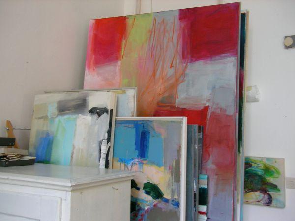 Bei Rosa Quint im Atelier