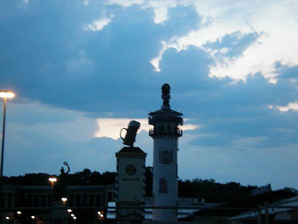 Wolken über Theresienwiese