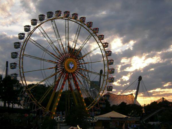 Riesenrad im Olympiapark