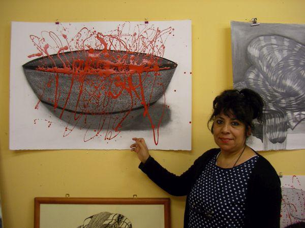 Iman Mahmud und ihre Kunst