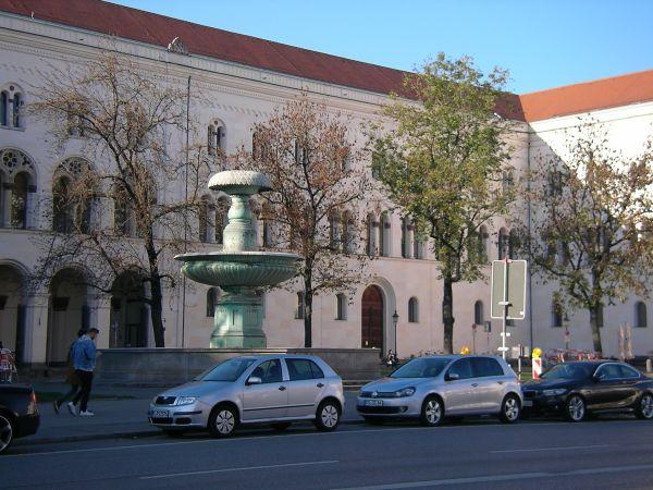 Hauptgebäude Ludwig-Maximilians-Universität