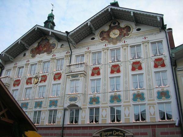 Bad Tölz - Fassaden im Advent