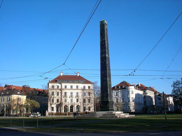 Obelisk am Karolinenplatz
