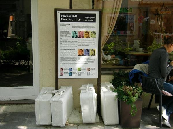 weiße Koffer - Steinheilstraße 20