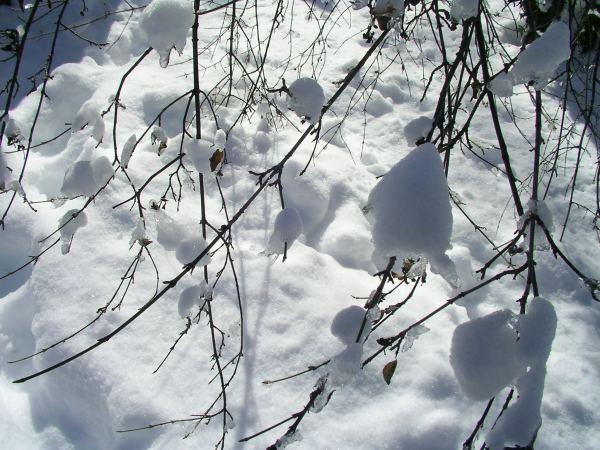 Schneeklumpen