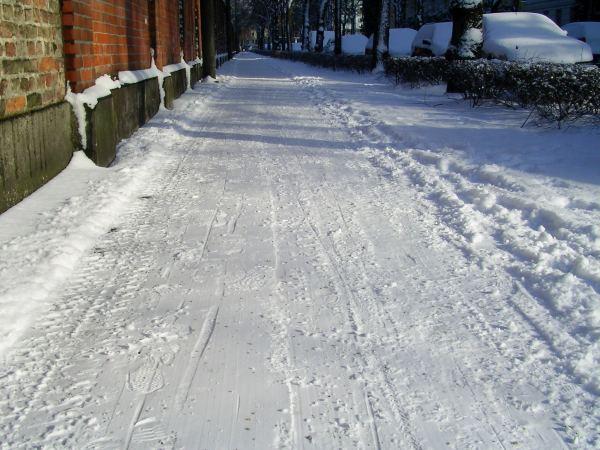 Gehweg Zieblandstraße