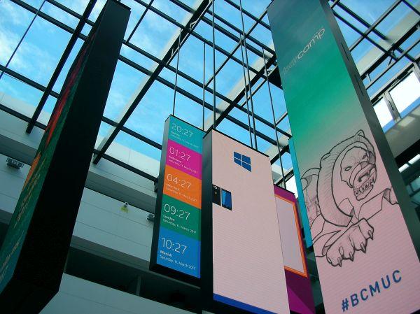 Barcamp München bei Microsoft