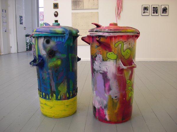 Mülltonnen Esther Zahel