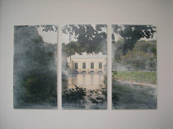 Triptychon in Jahresausstellung