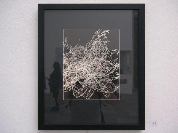 Lichtzeichnung von Hans Schork