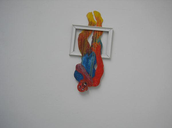 Jochen Sendler - Fenstersturz im Kunstpavillon