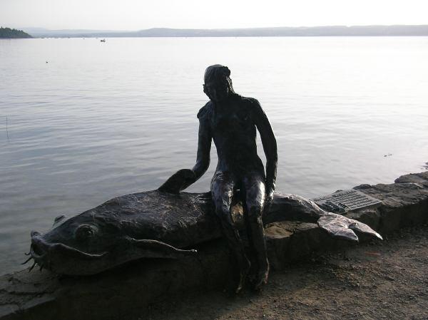 Kleine Seejungfrau am Ammersee
