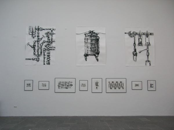 Dorina Csiszár im Kunstpavillon