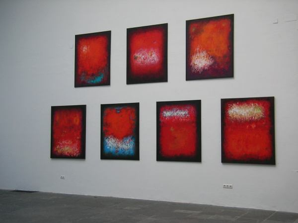 Radmila Ćurčić im Kunstpavillon