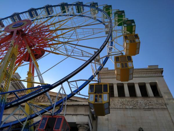 Riesenrad auf dem Königsplatz