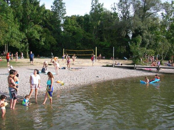 Strandbad in Herrsching am Ammersee